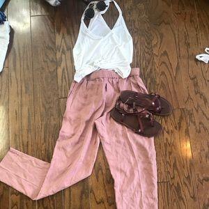 Very cute pink obey pants